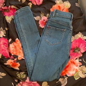 BDG super high rise twig skinny jeans